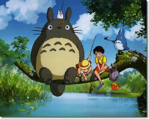 龙猫也不是所有人都能看见的,只有单纯的孩子才能有幸看到,这是宫崎骏